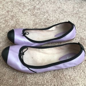 2 pairs of flat shoes from Anthropologie